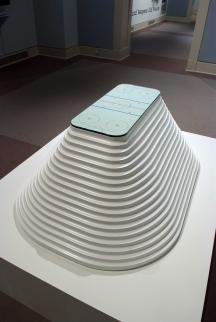 2008 EPS Foam, Glass, Mylar, Lacquer 50″ x 36″ x 20″