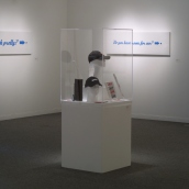 I Don't Play (installation view)