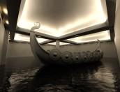 Viking Ship inside Kling and Bang